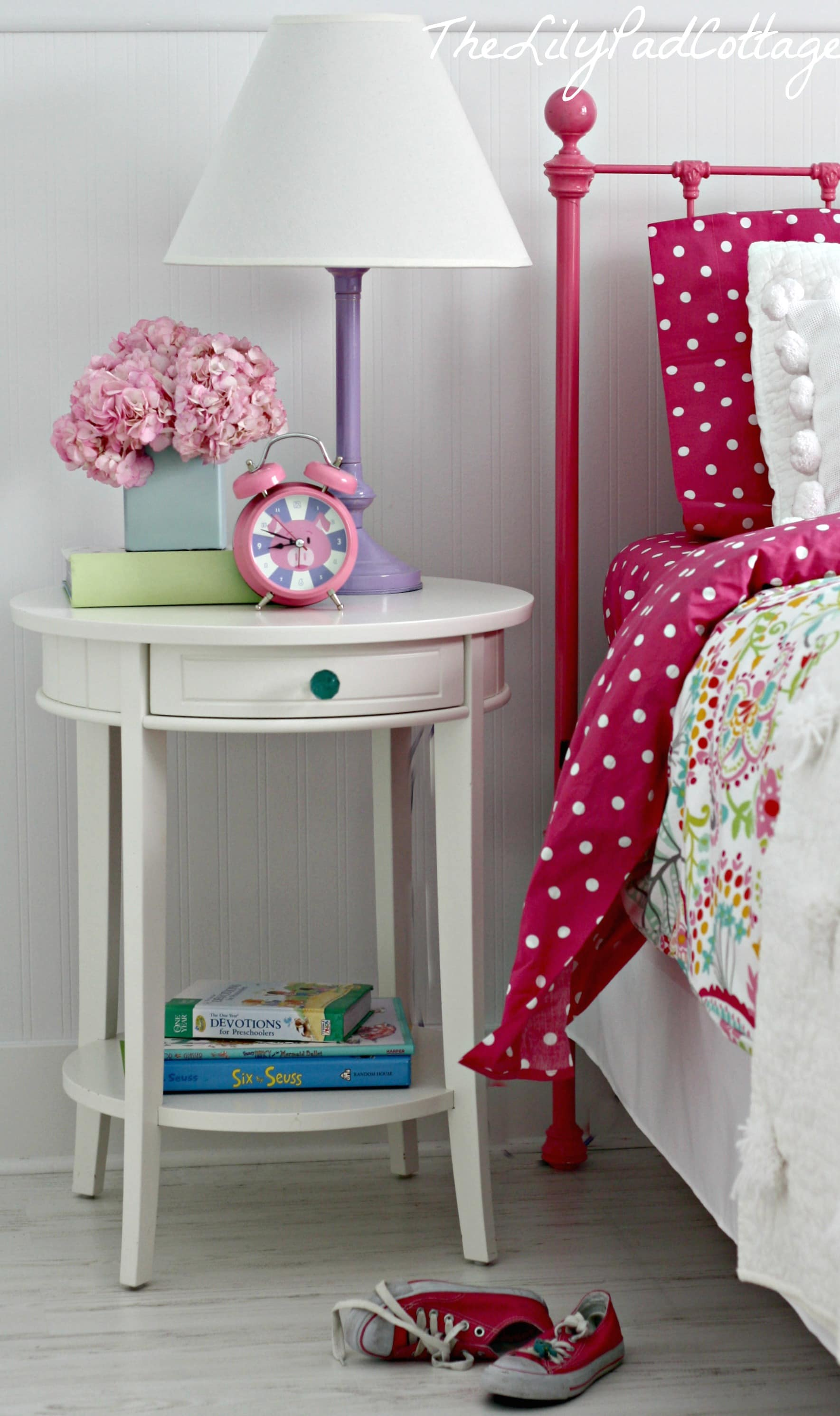 Big Girl Bedroom Reveal Finally The Lilypad Cottage