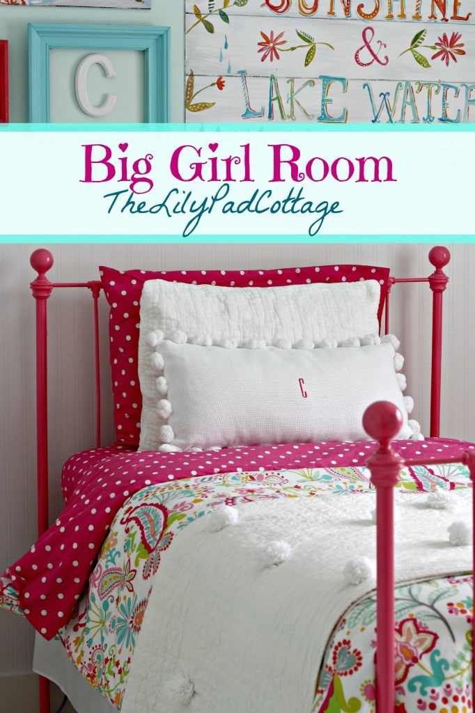 Lovely Big Girl Bedroom Reveal u Finally